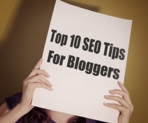 Top 10 (Search Engine Optimisation) SEO Tips For Bloggers