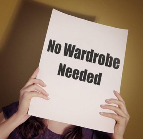 No Wardrobe Needed