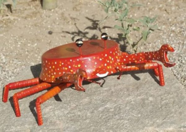 Frying Pan / Skillet Transformed Into a Craft Crab
