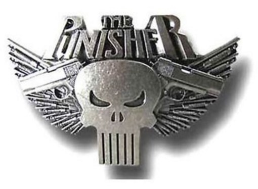 The Punisher Belt Buckle