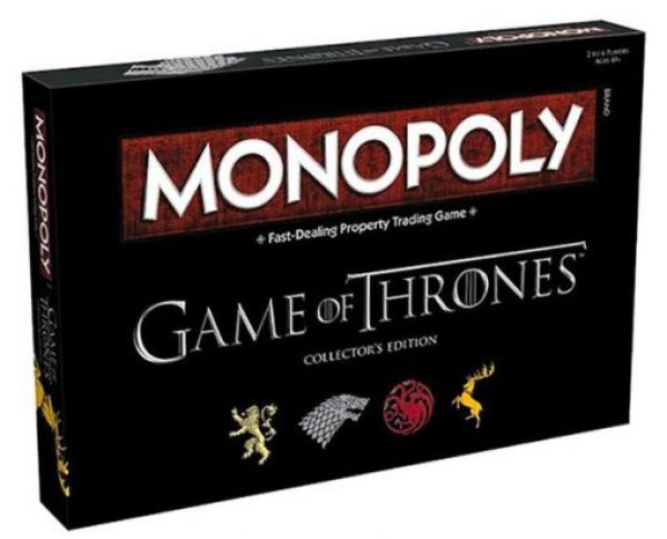 Game Of Thrones Monopoly Board Game Set