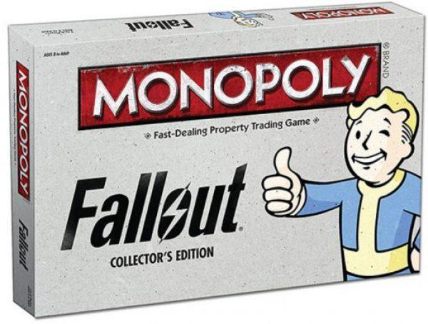 Fallout Monopoly Board Game Set