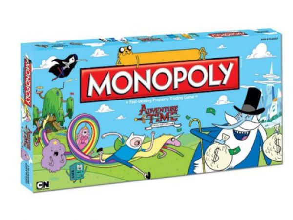 Adventure Time Monopoly Board Game Set