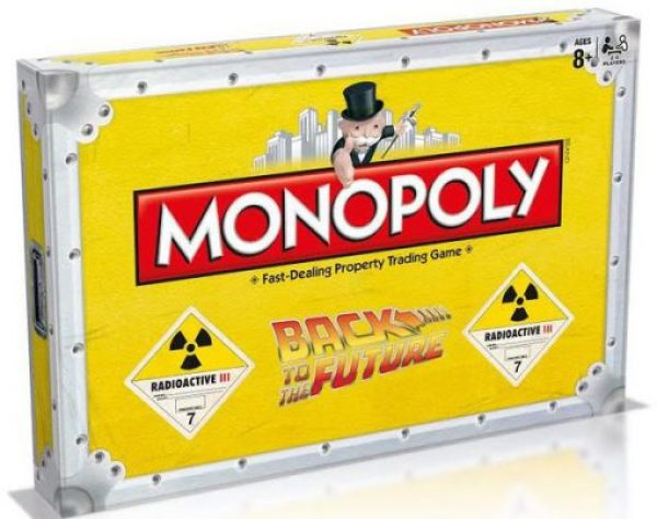 Back To The Future Monopoly Board Game Set