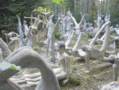Veijo Rönkkönen Sculpture Garden, Parikkala