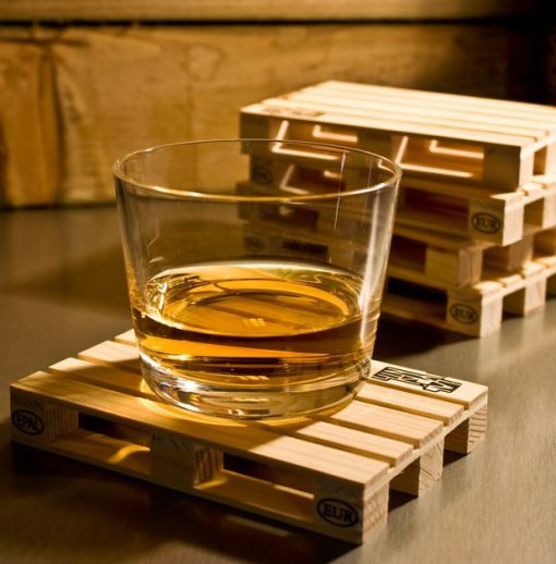 Wooden Pallet Drink Coasters