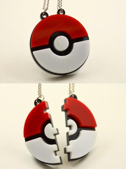 Poké Ball Friendship Necklace