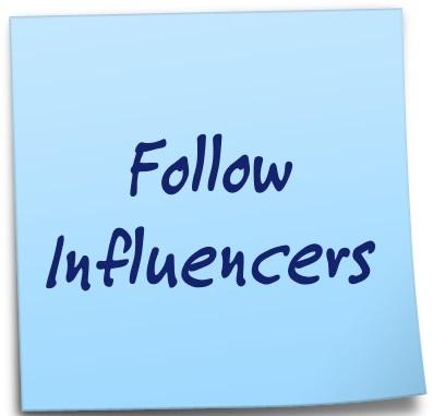 Follow Influencers
