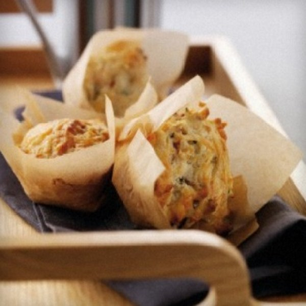 Cheese, Bacon and Tomato Muffins