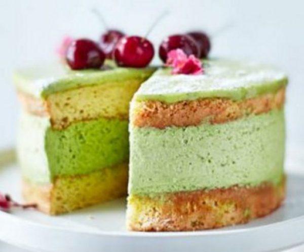Matcha Mousse Cake