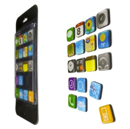 Iphone Icons Fridge Magnets