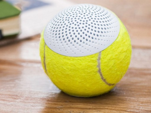 Tennis Balls Transformed Into Speakers