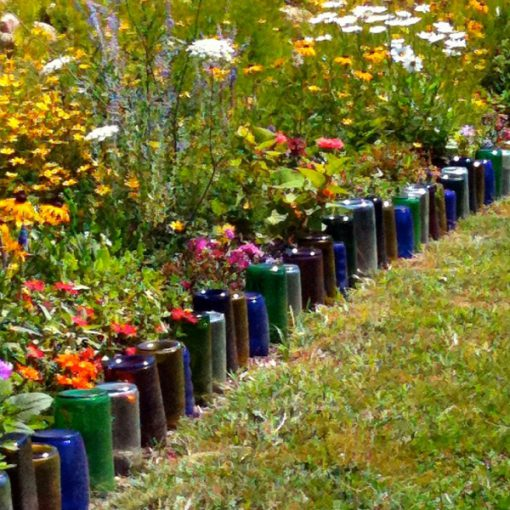 Top 10 Things You Can Recycle Into a Garden Border
