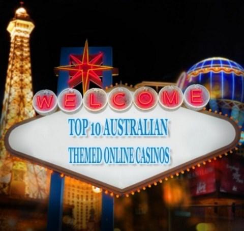 Top 10 Australian Themed Online Casinos
