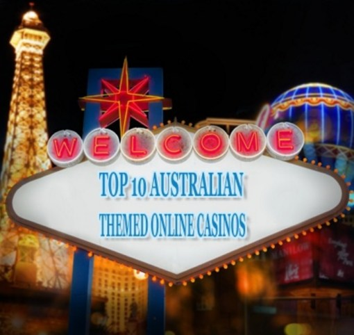 Top 10 Australian Themed Online Casinos
