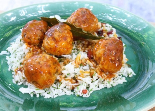 Herby Veal Meatballs