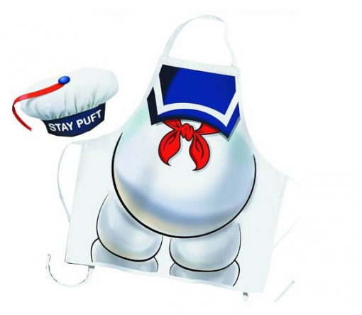 Stay Puft Apron and Chef Hat