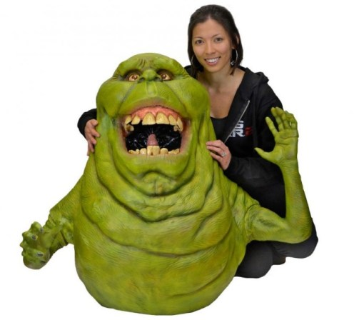 Lifesize Ghostbusters Slimer Replica