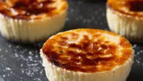 Creme Brûlée Cheesecakes