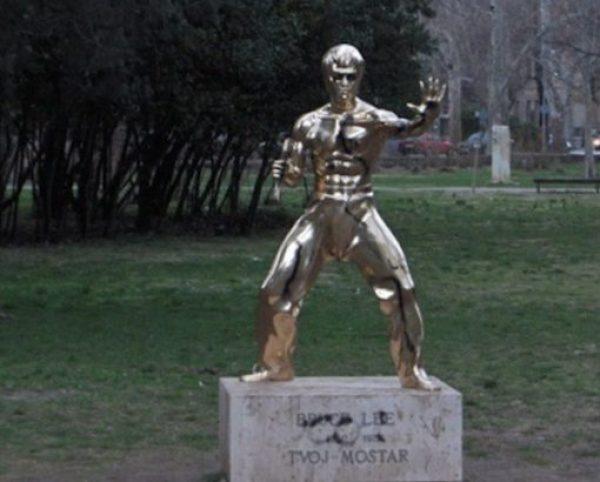 Bruce Lee Sculpture of Mostar, Mostar