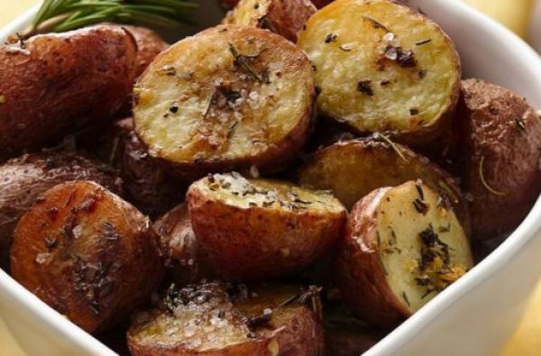 Balsamic Roasted New Potatoes