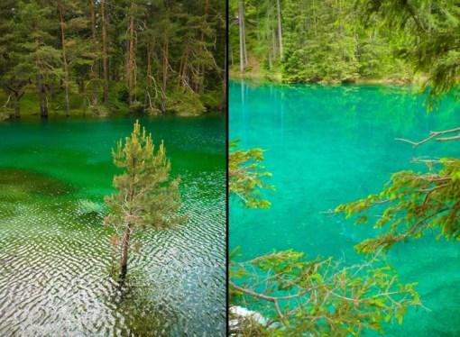 The Green Lake, Tal