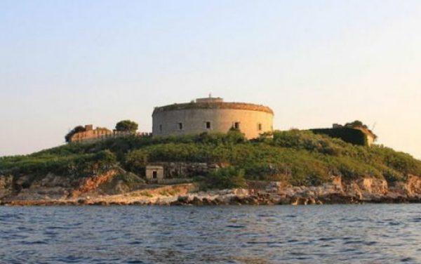 Fort Mamula, Mamula Island