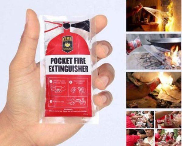 Pocket-Friendly Fire Extinguisher