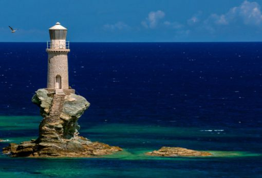 Tourlitis Lighthouse, Andros