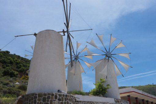 Windmills of Lasithi Plateau ,lasithi