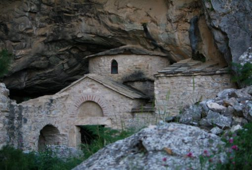 Davelis Cave on Pendeli Mountain, Penteli