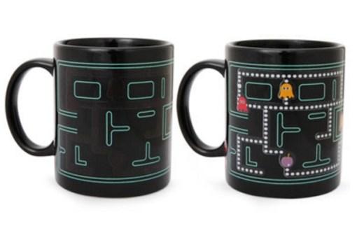 PacMan Heat Changing Mug