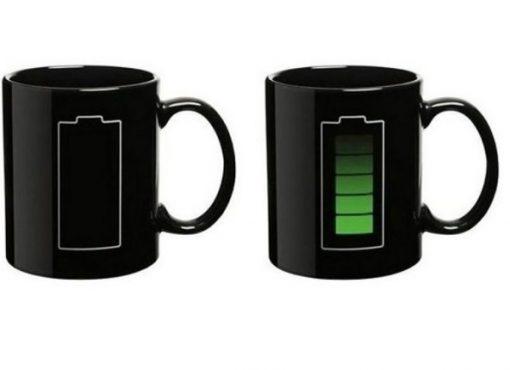 Battery Charge Heat Changing Mug