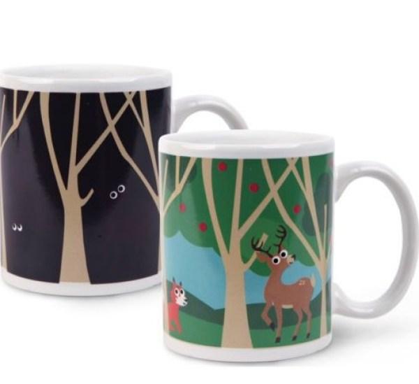 Woodland Heat Changing Mug