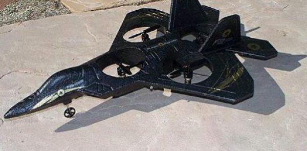 Predator Jet Quadcopter