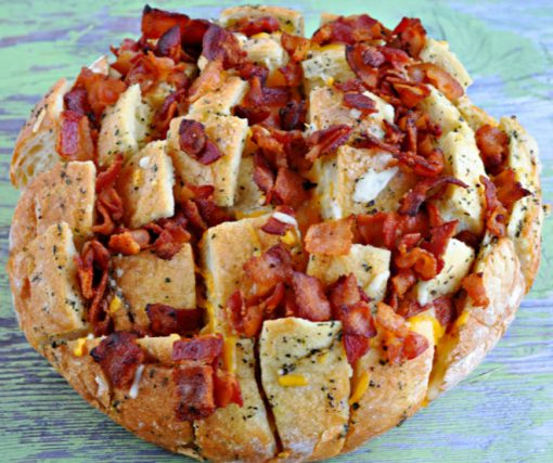 Bacon & Cheese Pull-Apart Bread