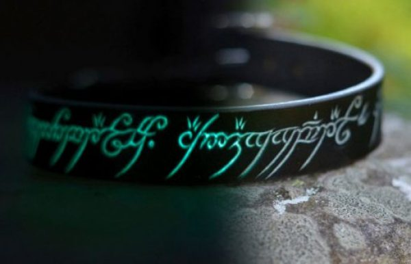 Glow In The Dark LOTR Dog Collar