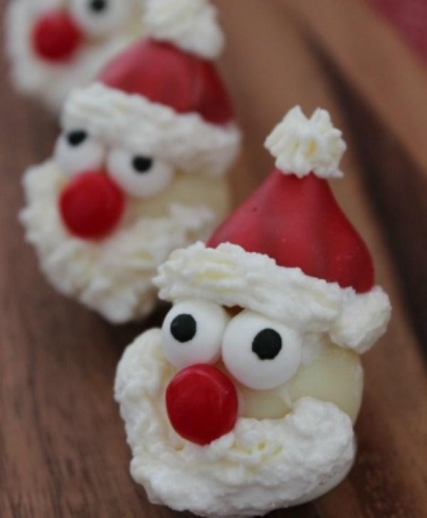 Santa Truffles