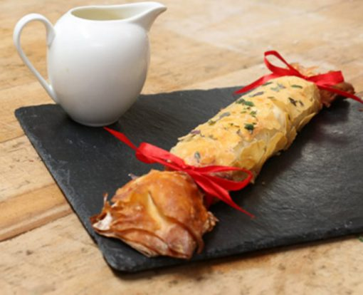 Chestnut and Goat's Cheese Christmas Crackers
