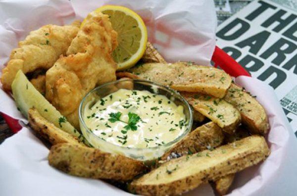 Leaky Cauldron Fish & chips