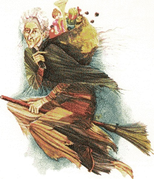 Italian Christmas Tradition - Befana the Witch