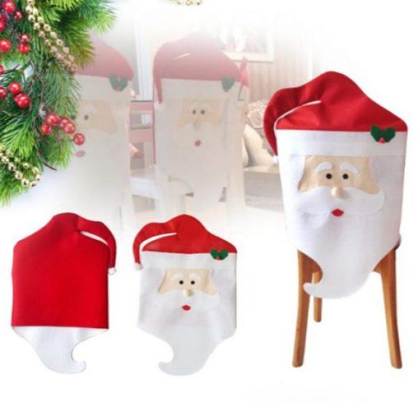 Santa Head Dining Chair Slipcovers