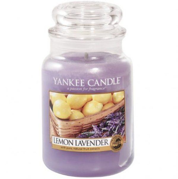 Lemon Lavender Yankee Candle