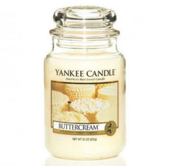 Buttercream Yankee Candle