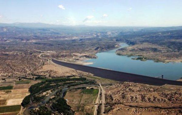 Cochiti Dam - Length: 8,851 m