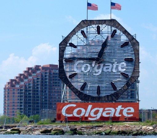 Colgate Clock, New Jersey