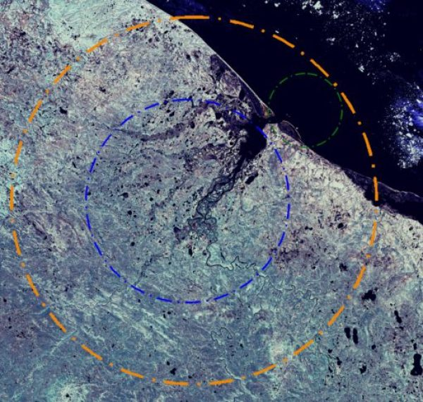 Kara Crater, Russia