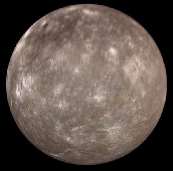Titania, Moon of Uranus