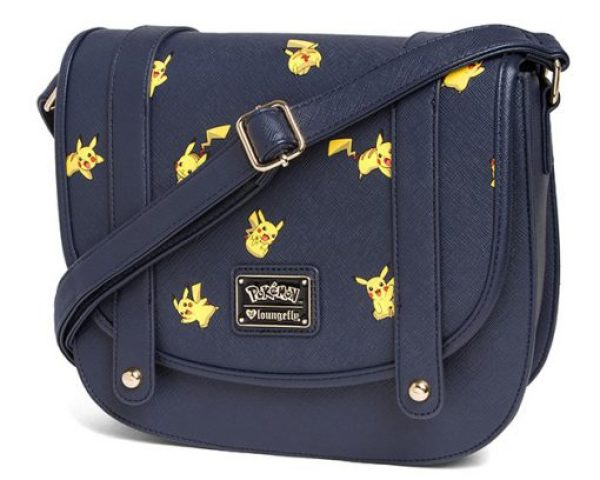 Pikachu Leather Crossbody Bag