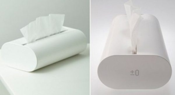 Plus Minus Zero X010 Tissue Holder